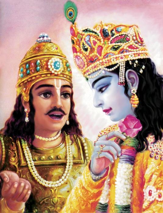 krishna&arjuna