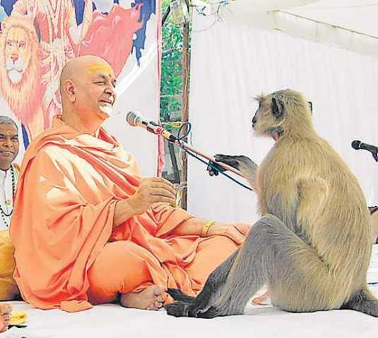 hanuman listening