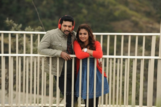 Jayam Ravi, Nayanthara in Thani Oruvan Movie Stills